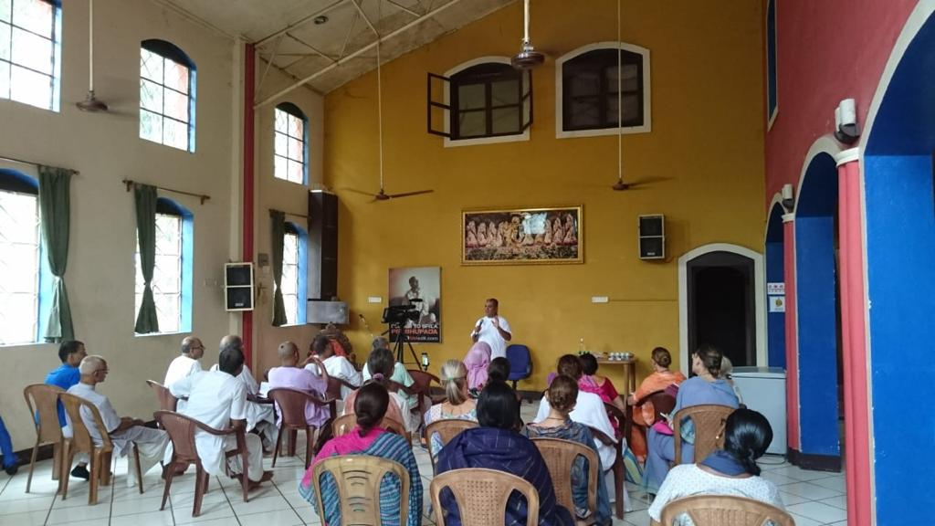 SEMINAR ON AYURVEDA in ISKCON Mayapur Community Hall – Oṁ Śrī
